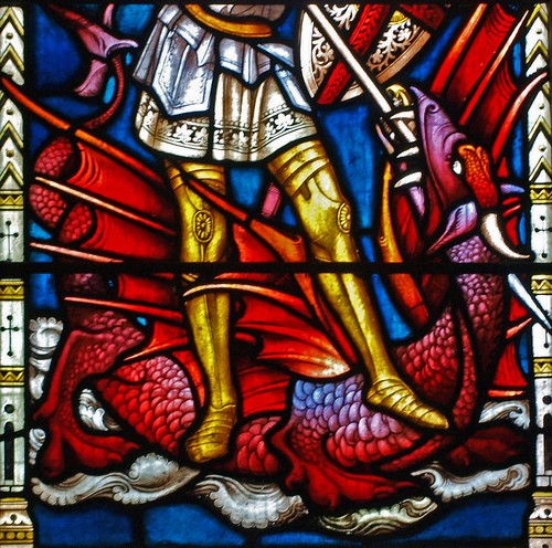 St George & the dragon (2)