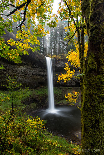 longexposure autumn fall water oregon silver waterfall places waterfalls silverfalls silverfallsstatepark