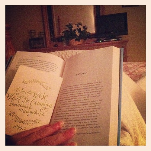 Last pic of the night.  I have my own lovey beside me, a great book to read and a little boy who will be up and ready for action at 6 AM tomorrow.  My One Day is a wrap.   Good night!  #onedayhh