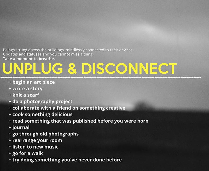 unplug & disconnect