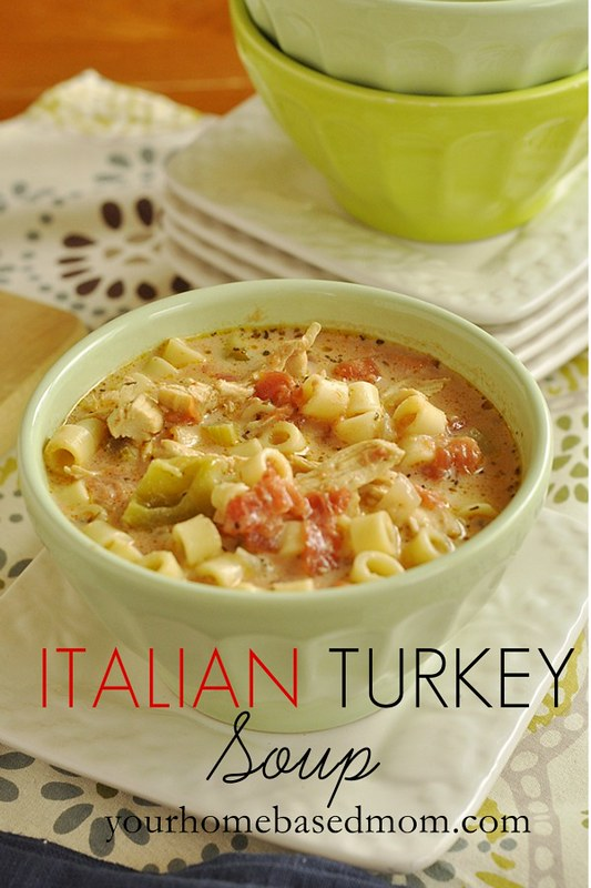 Italiana turkey soup