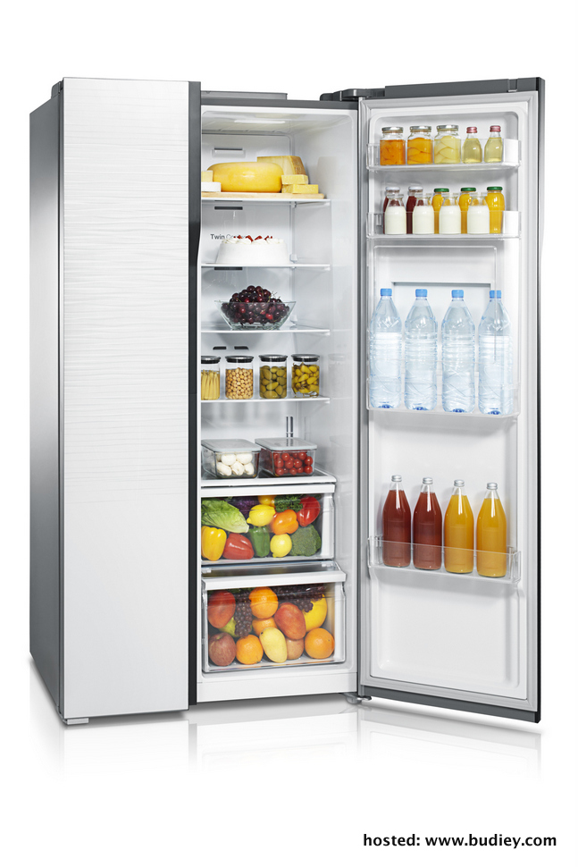 Samsung's New Side-By-Side Refrigerator Is Innovation Meets Beauty