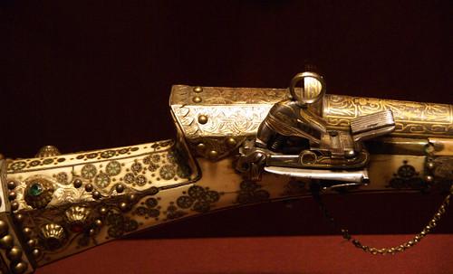Early Firearm, Metropolitan Museum, NYC, 7-27-2011
