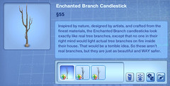 Enchanted Branch Candlestick