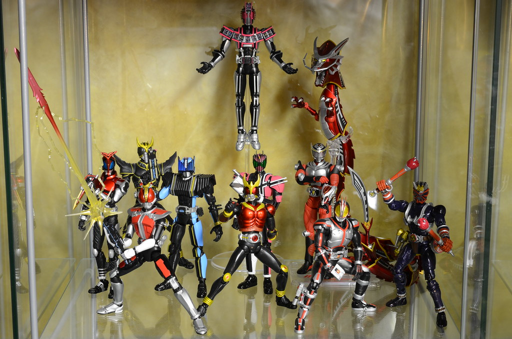 Kamen Rider Decade Display