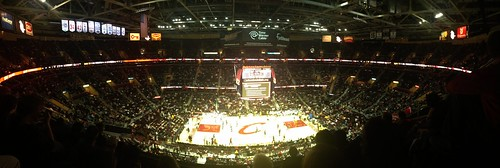 Quicken Loans Arena Panorama