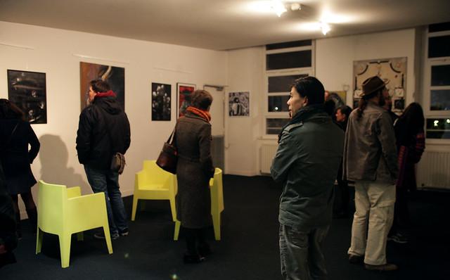 Exposition Zavata à l'Auberge de jeunesse d'Amiens