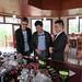 en dégustation de thé noir à Zhenghe, Fujian