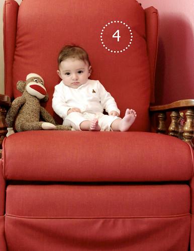 Alice Linda, 4 months