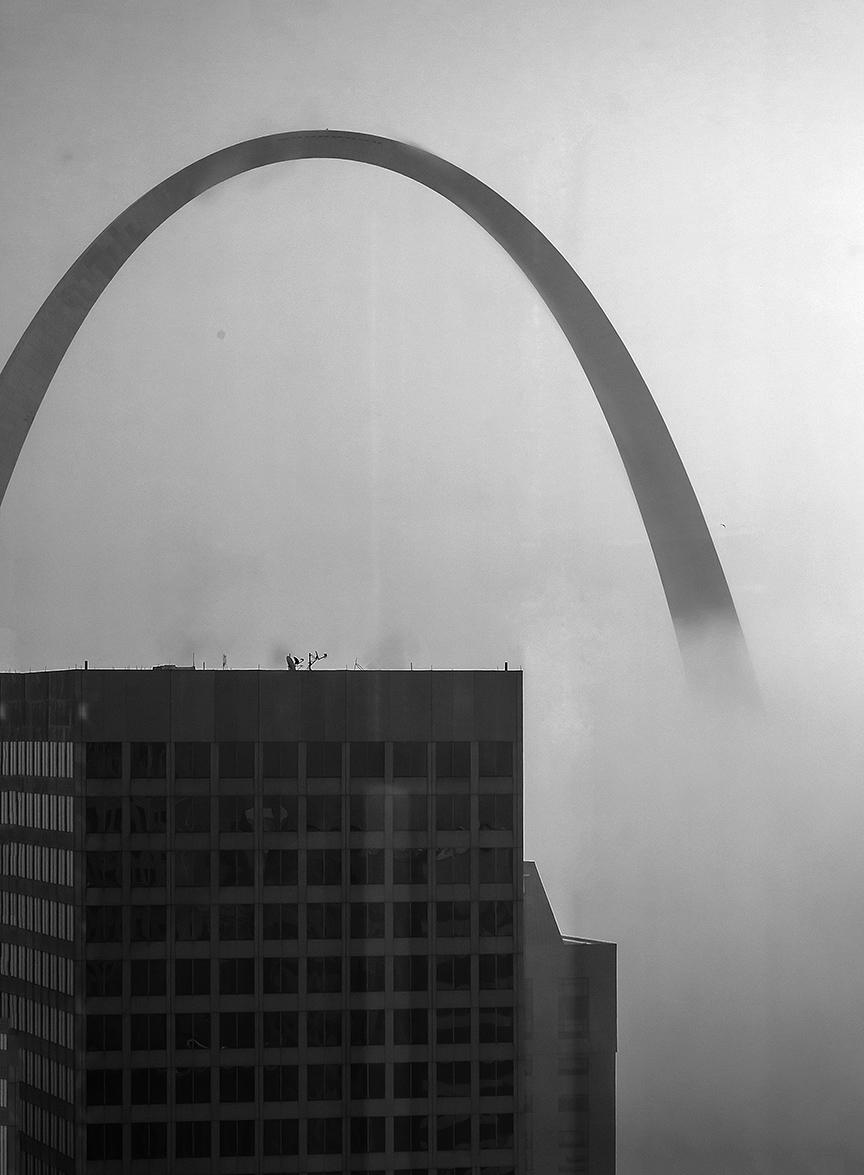 Arch In Fog 2012-11-21