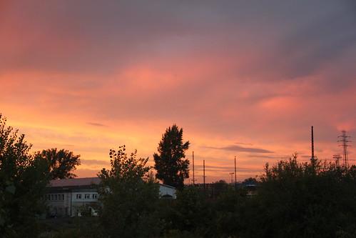 sunset sky colors sunshine clouds sunrise canon dawn evening dusk poland polska wrocław lowersilesia dolnośląskie dolnyśląsk canoneos550d canonefs18135mmf3556is