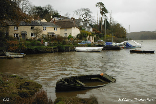 St.Clement, Tresillian River by Stocker Images