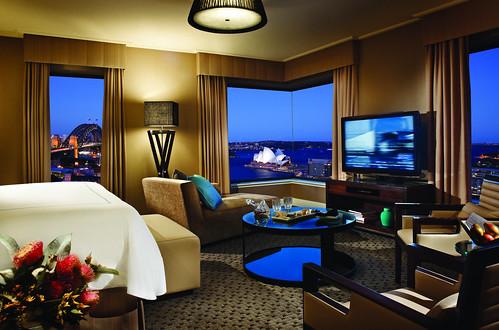 Grand Premier Full Harbour View room