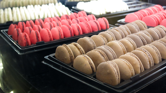 Various Macarons at TWG Tea