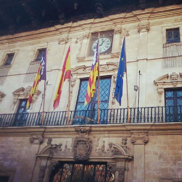 Siglo XVII Ayuntamiento de Palma, Plaça de Cort