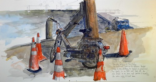 The Prophets Bike by Camden Sketcher