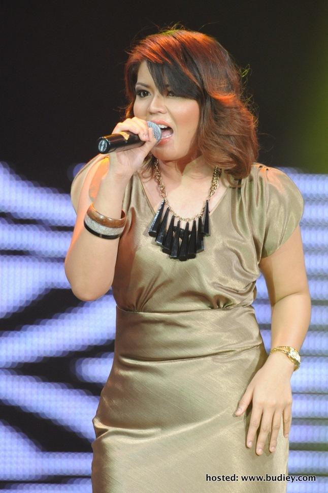 Fatin mempertaruhkan lagu Ku Pendam Sebuah Luka oleh Dato' Khadijah Ibrahim)-001