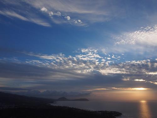 Diamond Head からの眺望 - 日の出