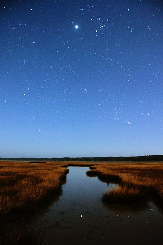 sky andy grass night stars virginia long exposure andrew channel aga assateague chincoteague aliferis d300s
