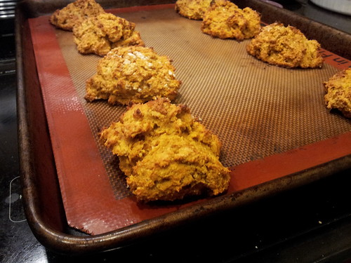 Powered-up Sweet Potato Cornmeal Biscuits