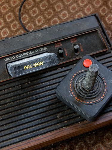 Atari 2600 by kenfagerdotcom