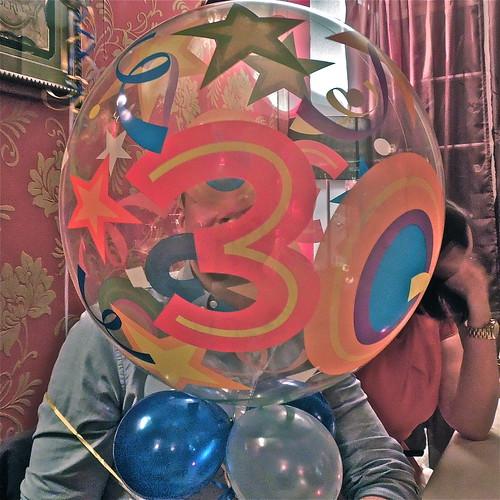 Happy Thirtieth Birthday!! ....(329/366) by Irene.B.