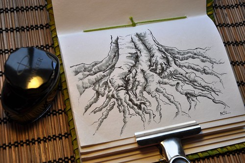 EDM Challenge #15 – Draw a tree or trees, leaves or branches