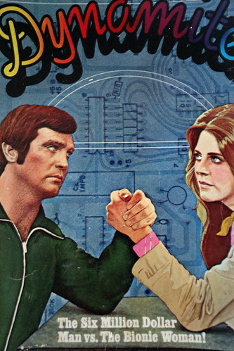 The Six Million Dollar Man vs. The Bionic Woman!