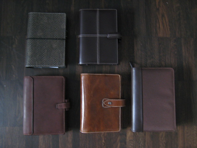 Filofax Colours (3): Brown