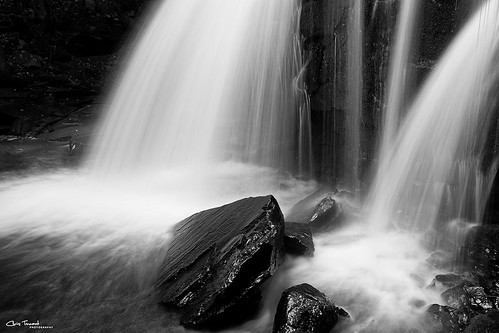 bw ny newyork nature water monochrome contrast waterfall rocks hike flowing catskills platteclove christennantphotography