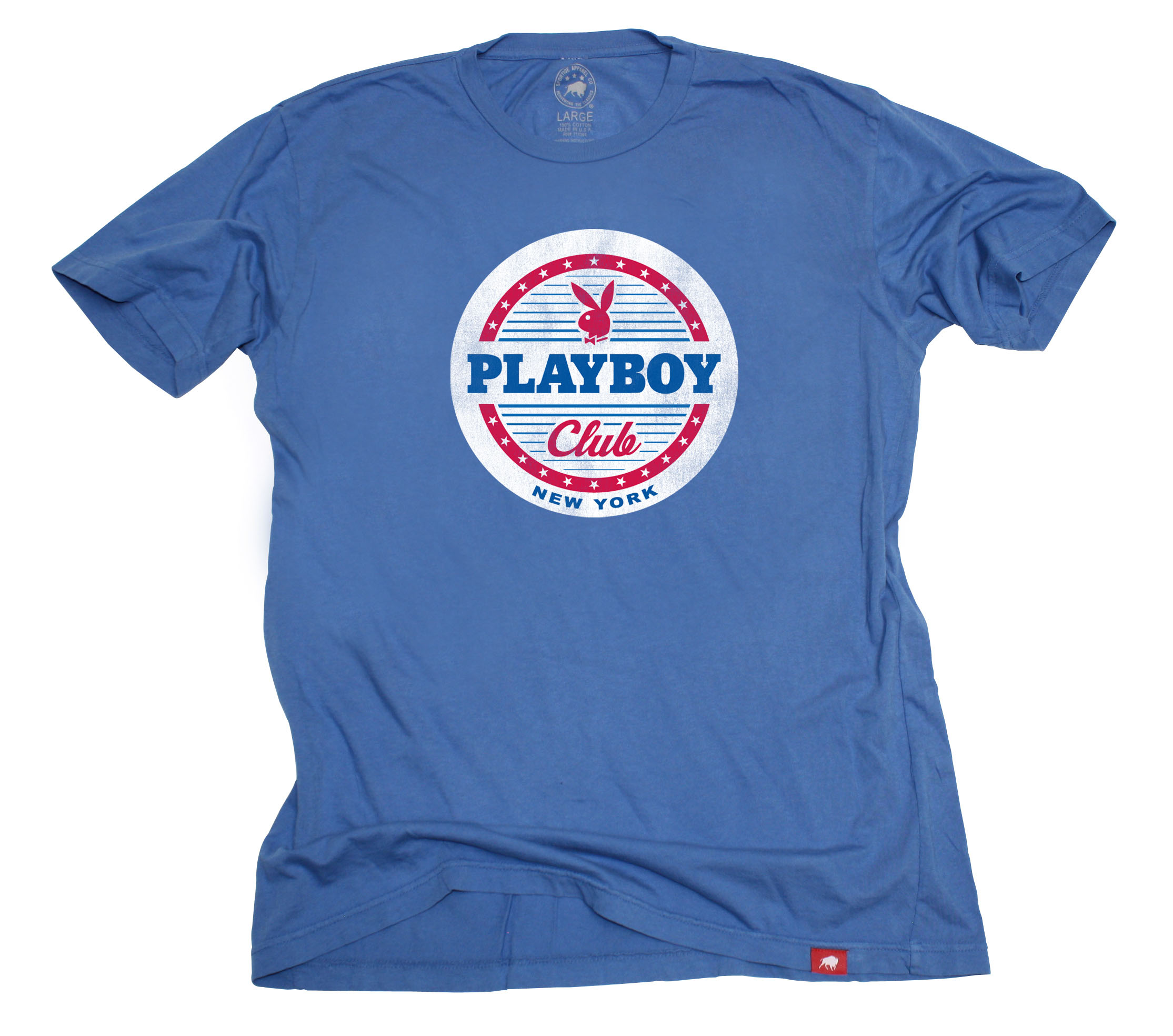Playboy Sportiqe Playboy Club New York Crewneck T-Shirt