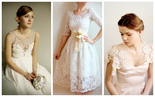 {Modern Lace} Bridal Style by Nina Renee Designs