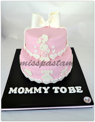baby shower cake by MİSSPASTAM