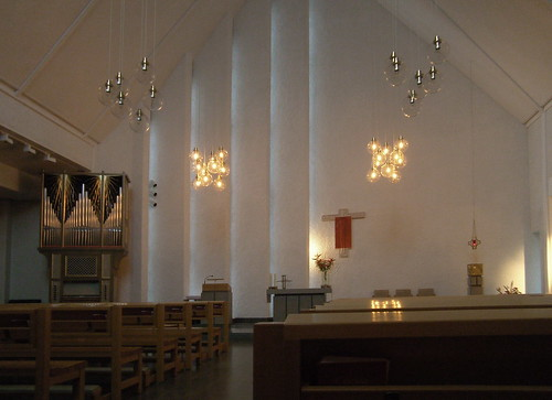 St Lars Catholic Church, Uppsala by Elmar Eye