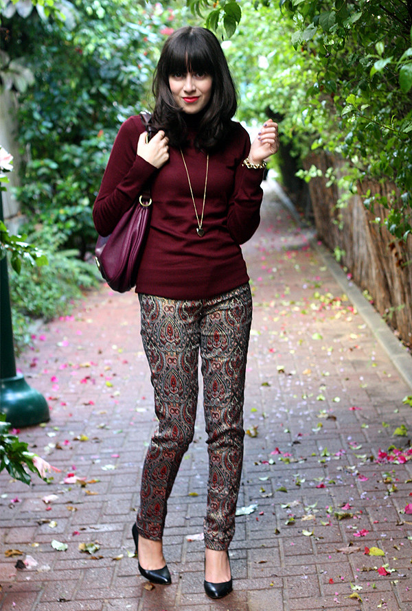 burgundy_turtleneck_zara_jacquard_trousers1