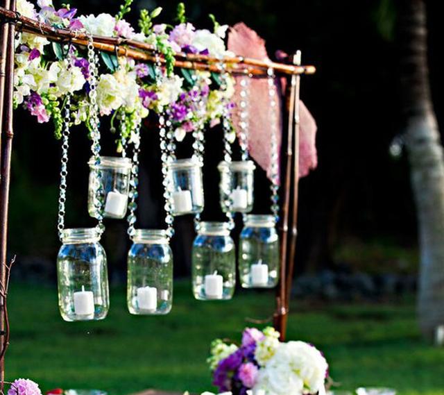 Cute Wedding Ideas For Reception: Cute-outdoor-wedding-reception-decoration-ideas