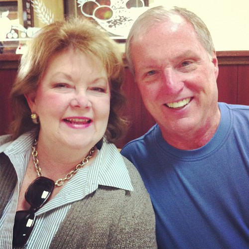 The two most darling parents. We're going too miss them when they leave tomorrow!