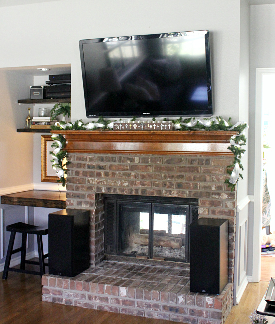 Mounted TV on Wall