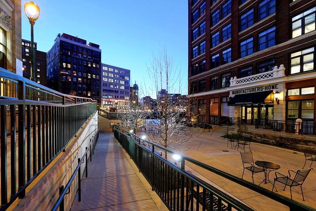 The ramp to Mason Street Landing