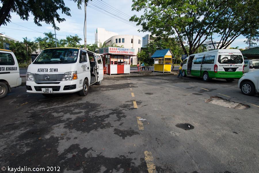 kinabalu park minibus