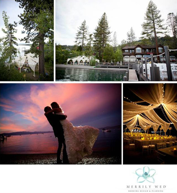 Real Wedding - Lake Tahoe, West Shore Cafe