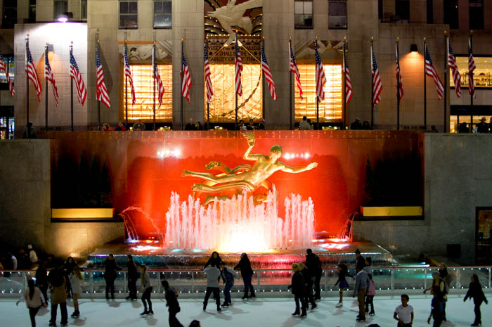 @ Rockefeller Center
