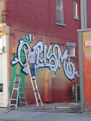 graffiti in progress