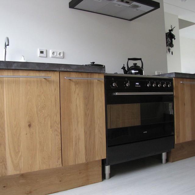 Houten Keuken Betonnen Blad : photo