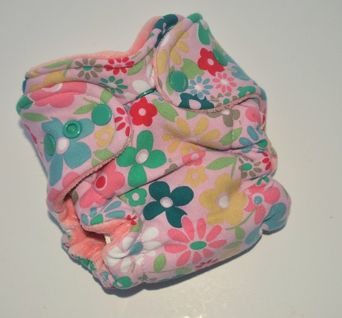 Bumstoppers Newborn Floral Hybird Fitted **New Style**