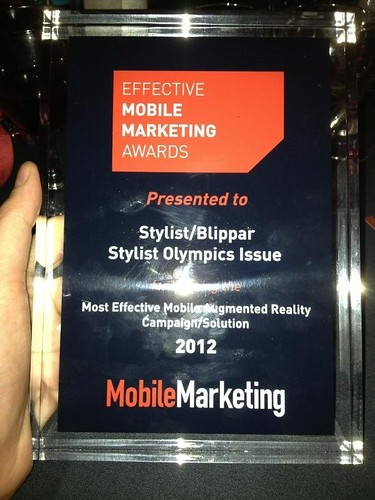 Blippar wins most effective mobile augmented reality campaign with Stylist olympic issue