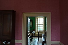 View into the Dining Room at The Wythe House. Colonial Williamsburg