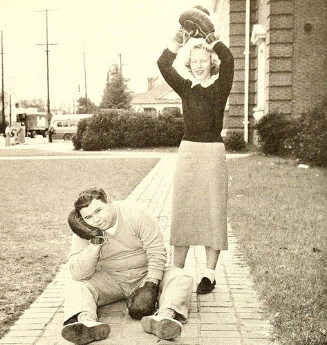Best Sport, Senior Superlatives, Fayetteville High School, 1952
