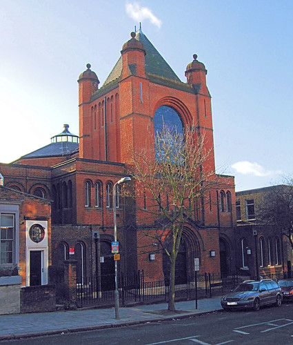 Hampstead Synagogue - London.