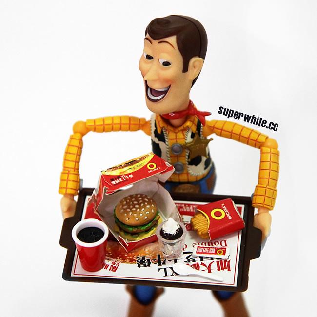 Woody love Fast Food
